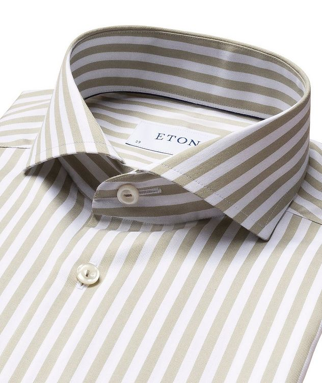 Slim Fit Striped Shirt picture 2