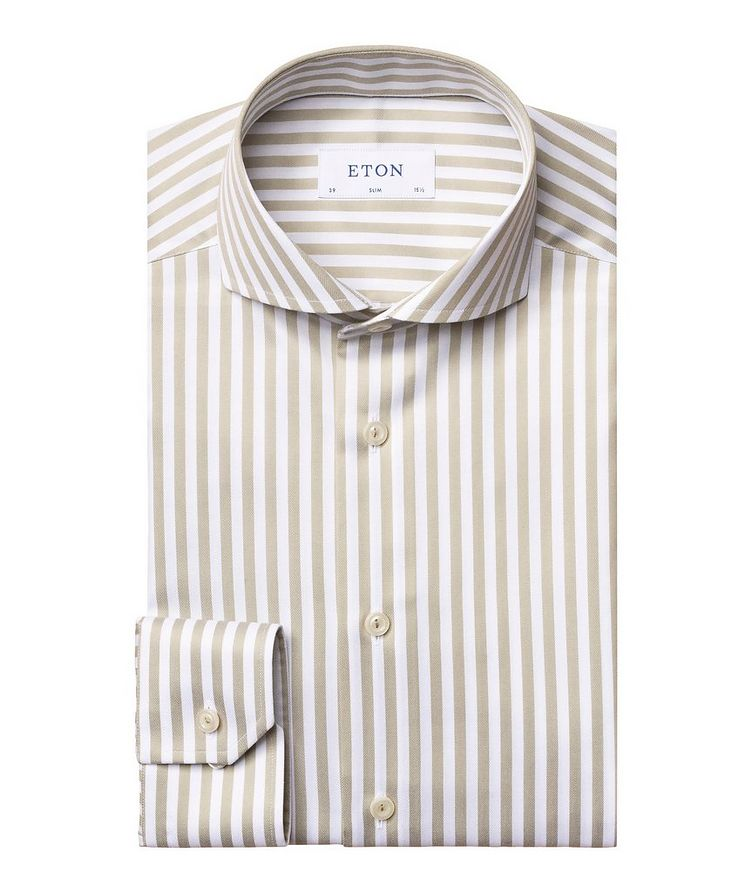 Slim Fit Striped Shirt image 0