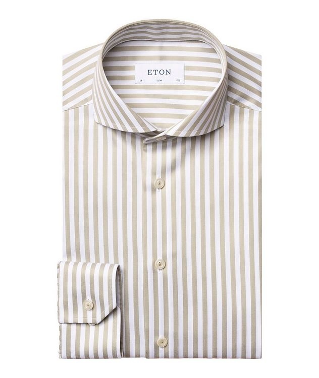 Slim Fit Striped Shirt picture 1