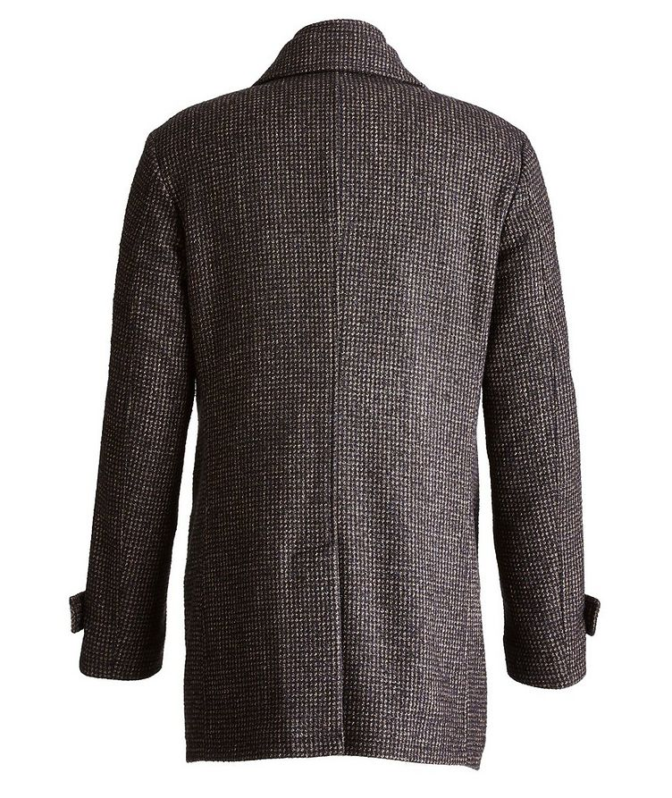 Water-Resistant Checkered Coat image 1