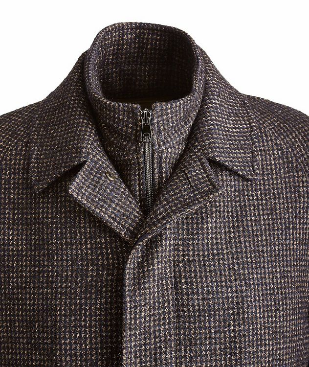 Water-Resistant Checkered Coat picture 3