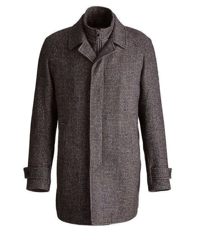 Water-Resistant Checkered Coat picture 1