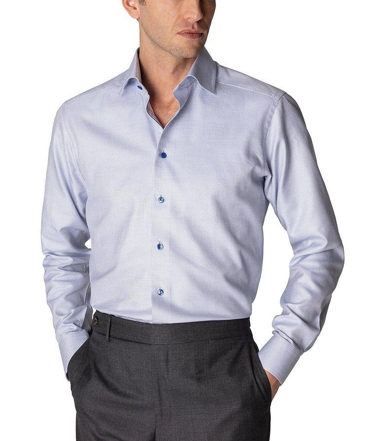 Slim Fit Textured Twill Shirt image 1
