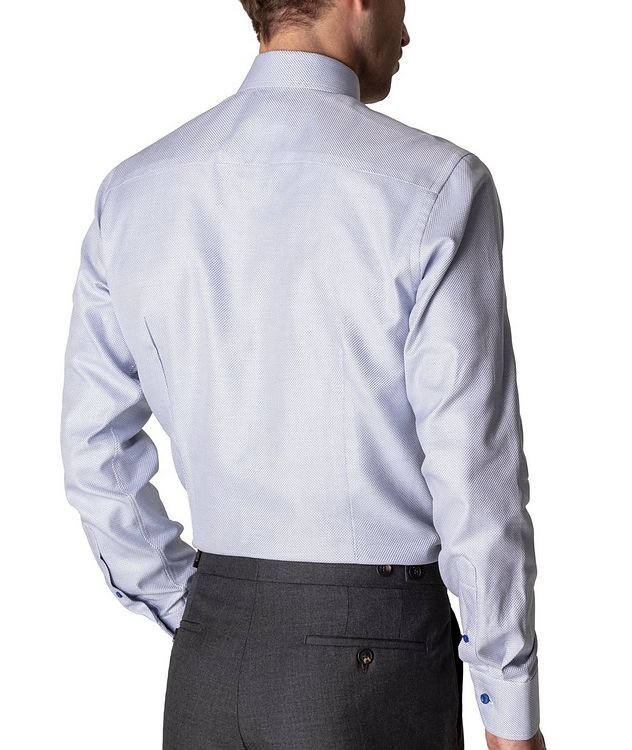 Slim Fit Textured Twill Shirt picture 3