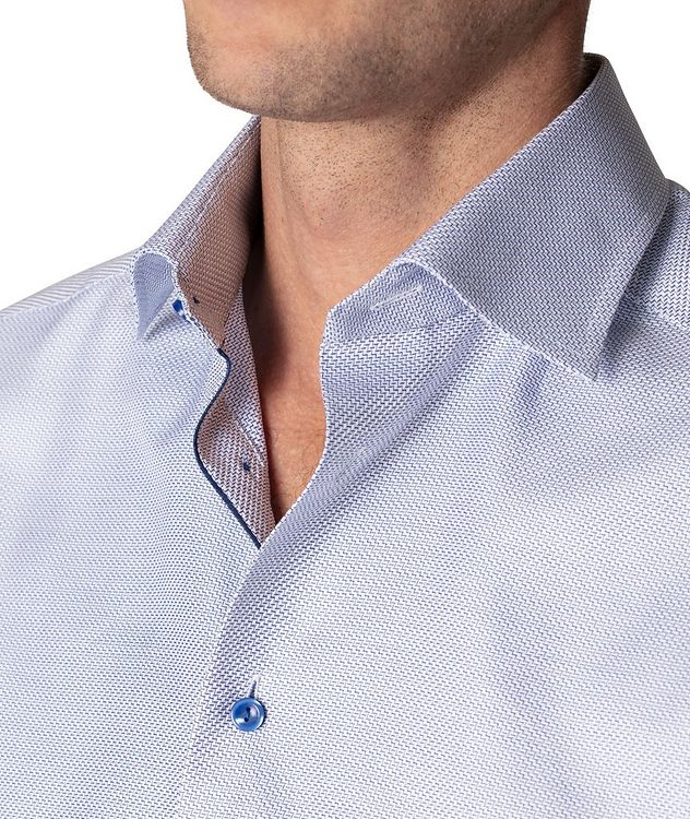 Slim Fit Textured Twill Shirt picture 4