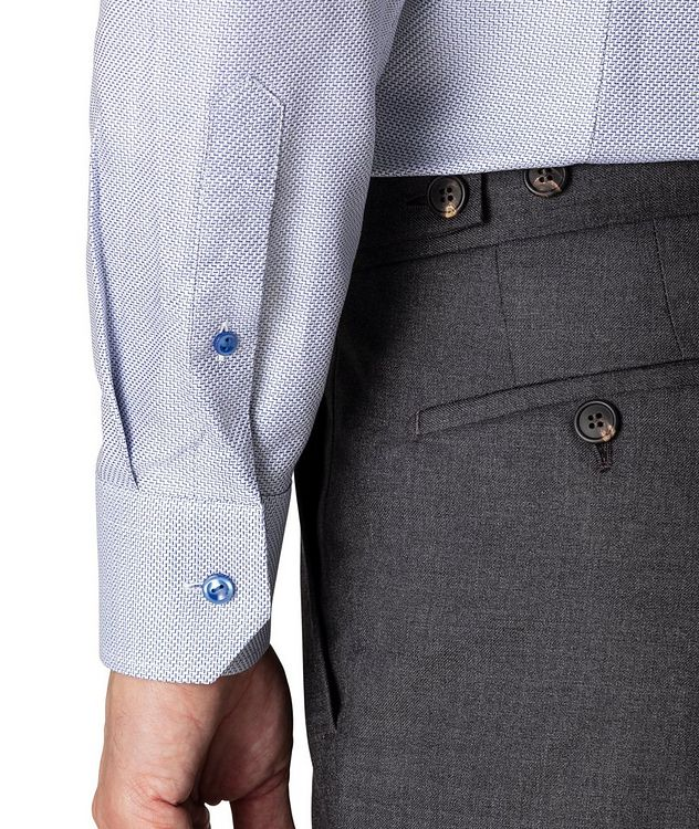 Slim Fit Textured Twill Shirt picture 5