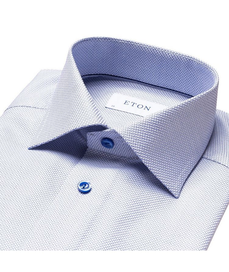 Slim Fit Textured Twill Shirt image 5