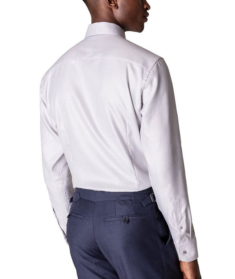 Slim Fit Textured Twill Shirt image 2