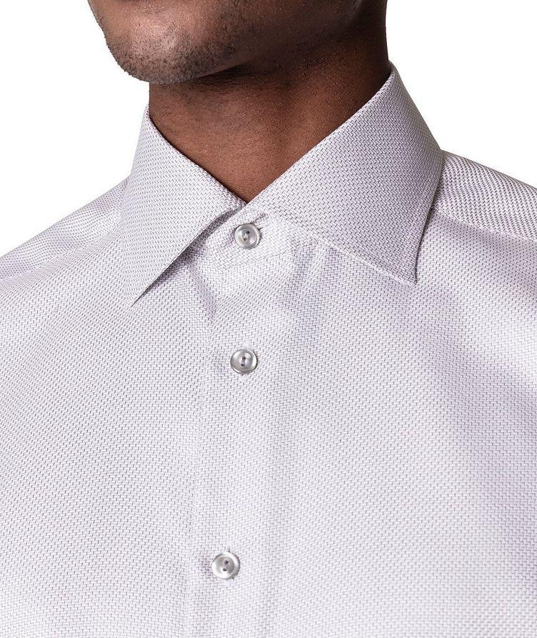 Slim Fit Textured Twill Shirt image 3