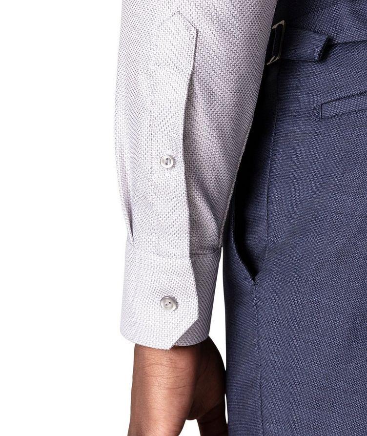 Slim Fit Textured Twill Shirt image 4