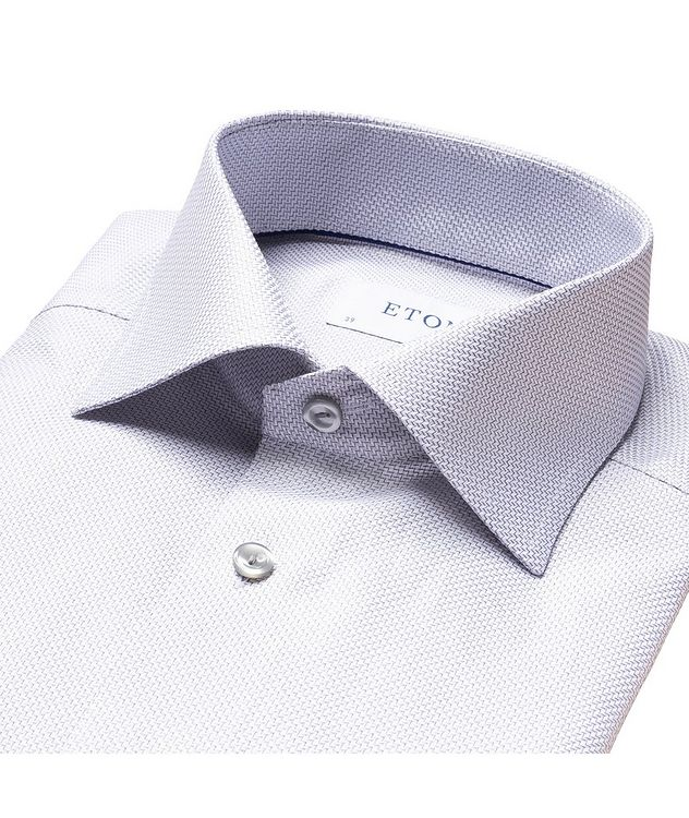 Slim Fit Textured Twill Shirt picture 6