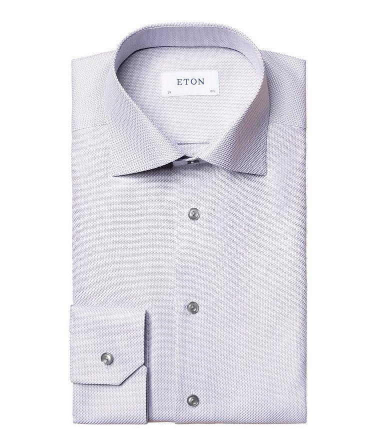 Slim Fit Textured Twill Shirt image 0