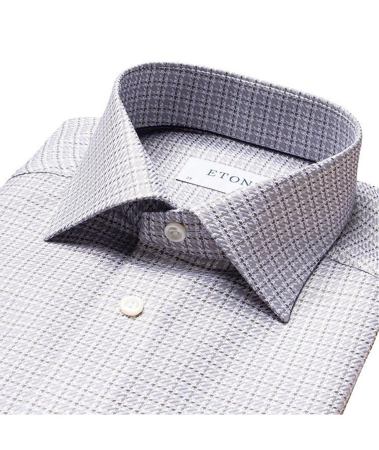 Slim Fit Houndstooth Shirt image 1
