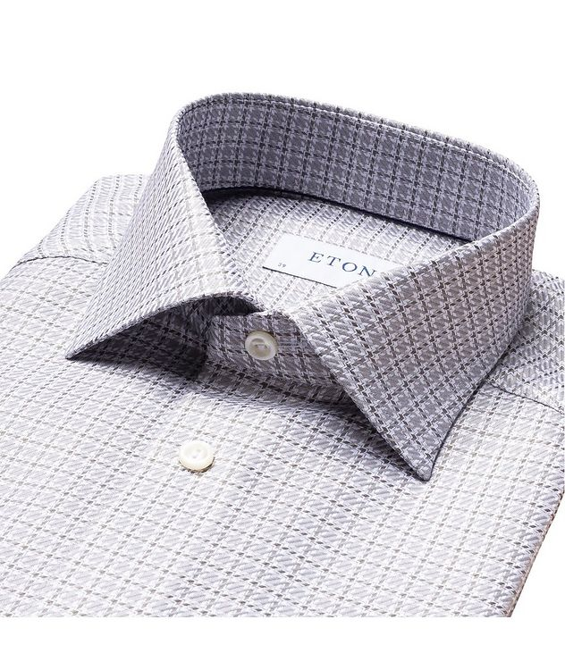 Slim Fit Houndstooth Shirt picture 2