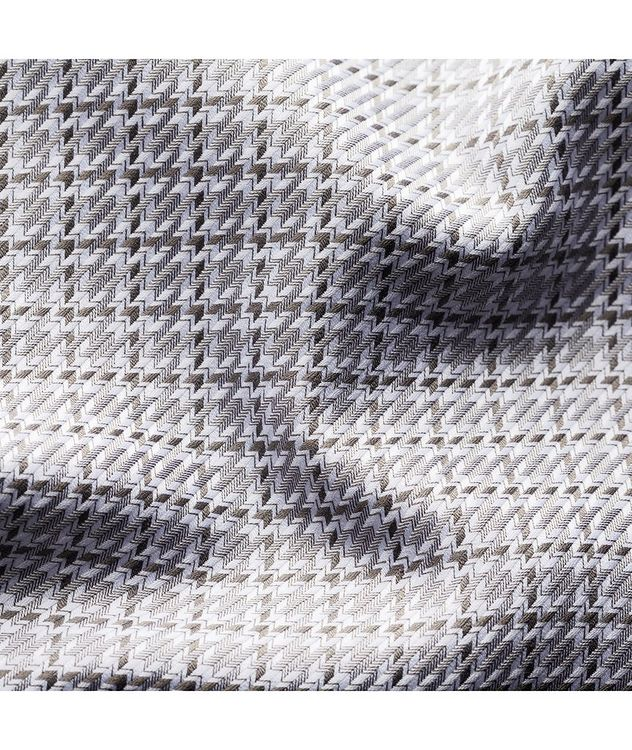 Slim Fit Houndstooth Shirt picture 3