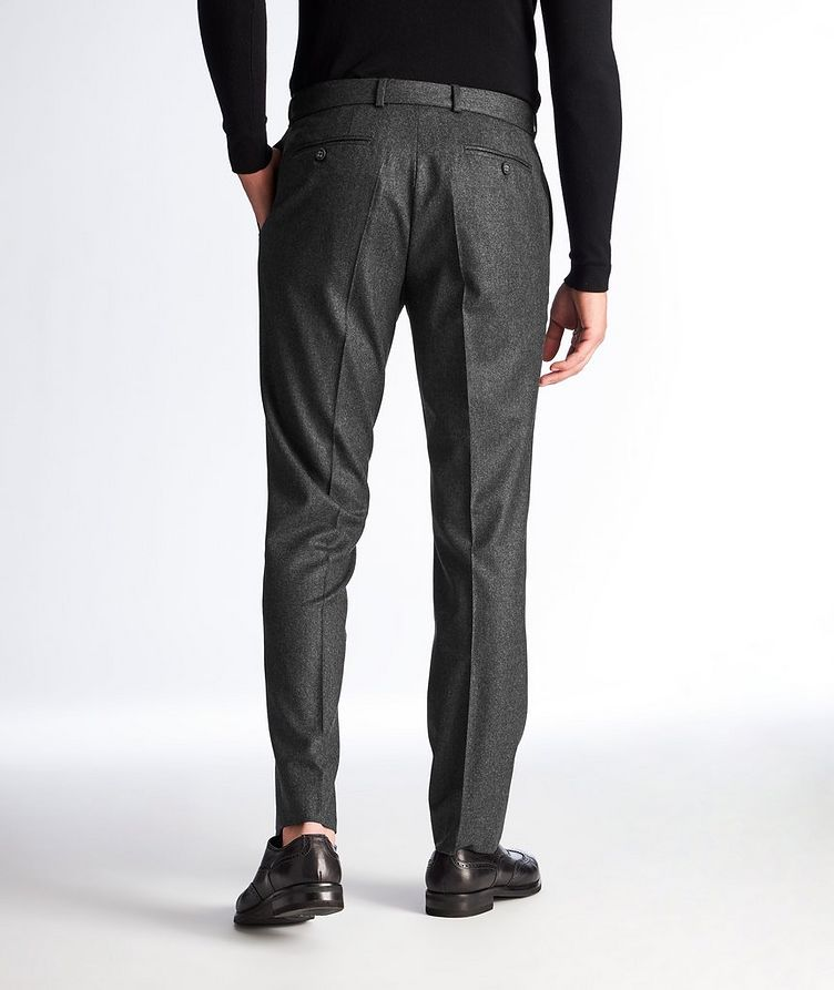 Wool Flannel Trousers image 1