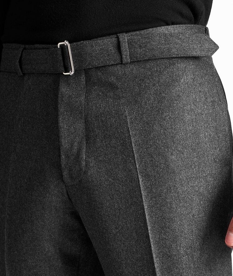 Wool Flannel Trousers image 3