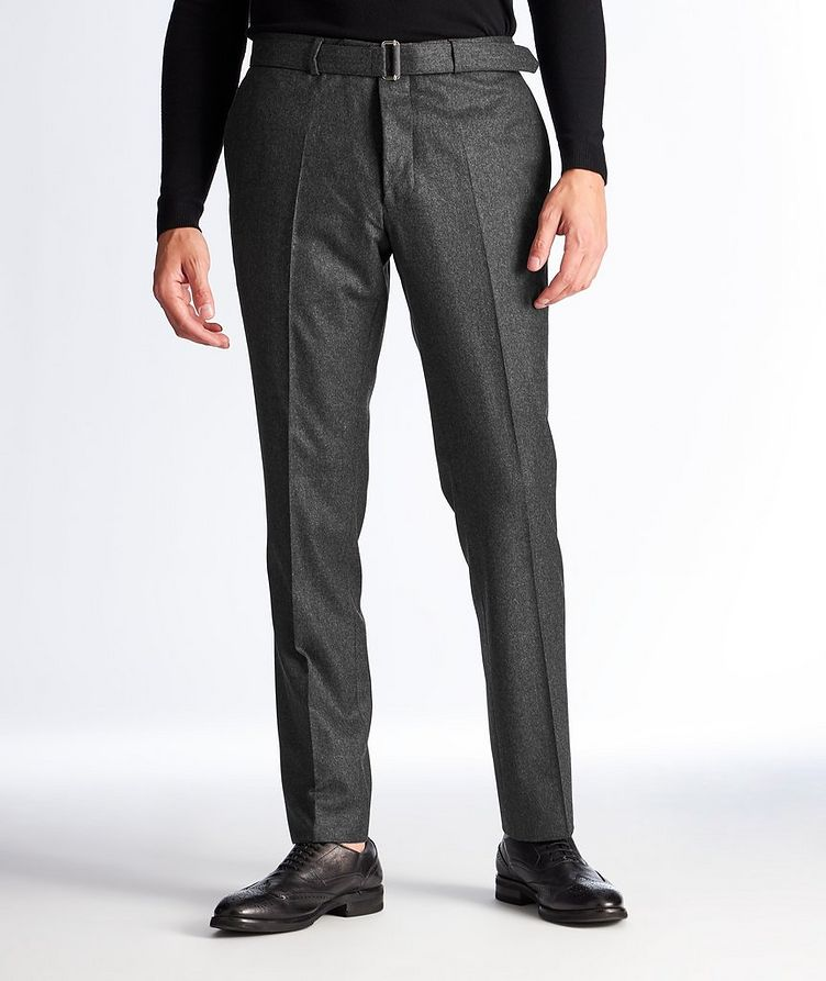 Wool Flannel Trousers image 0