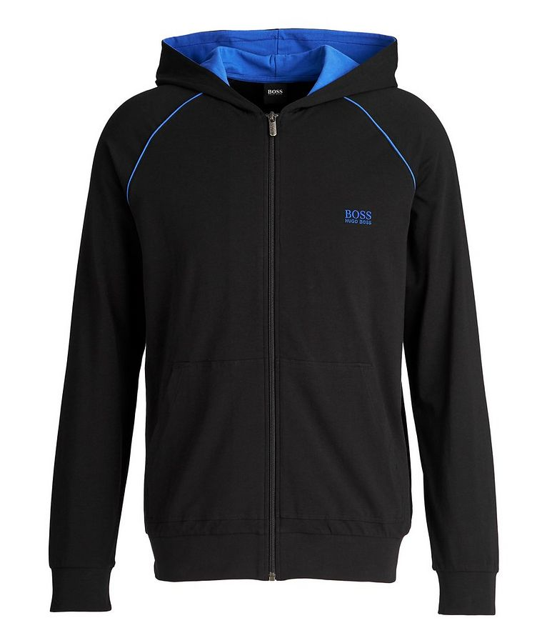 Mix and Match Hooded Zip-Up Sweatshirt image 0