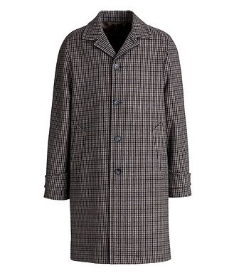 Officine Generale Checkered Wool-Blend Coat