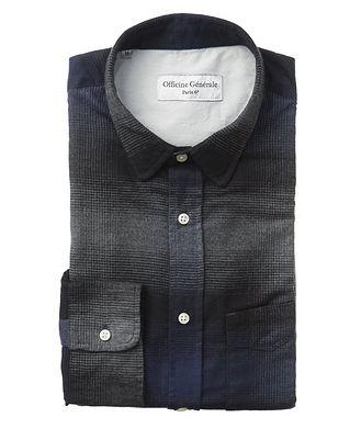 Officine Generale Plaid Cotton Shirt