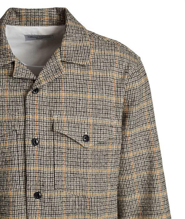 Chemise Jonas en coton et laine à motif quadrillé picture 2