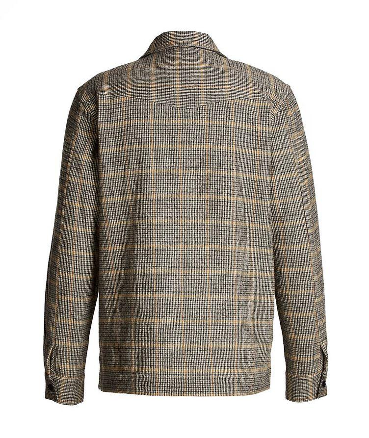 Chemise Jonas en coton et laine à motif quadrillé image 2
