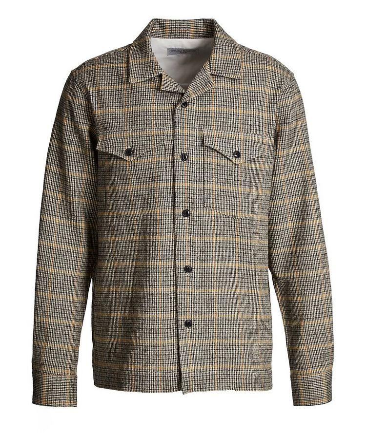 Chemise Jonas en coton et laine à motif quadrillé image 0
