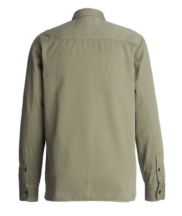 Amar Cotton-Twill Utility Shirt picture 2
