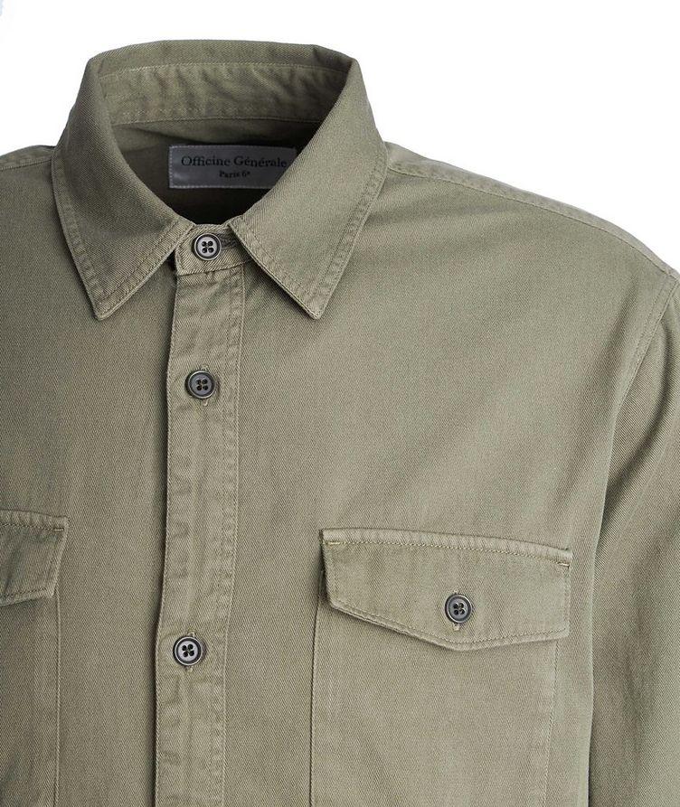 Amar Cotton-Twill Utility Shirt image 2