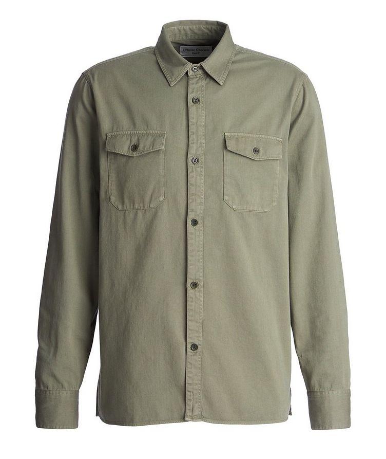 Amar Cotton-Twill Utility Shirt image 0