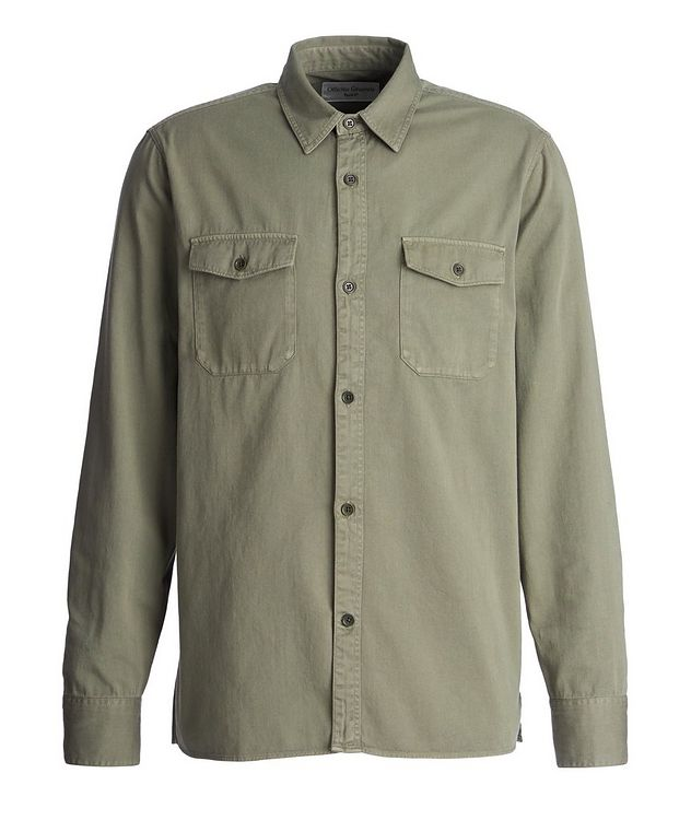 Amar Cotton-Twill Utility Shirt picture 1
