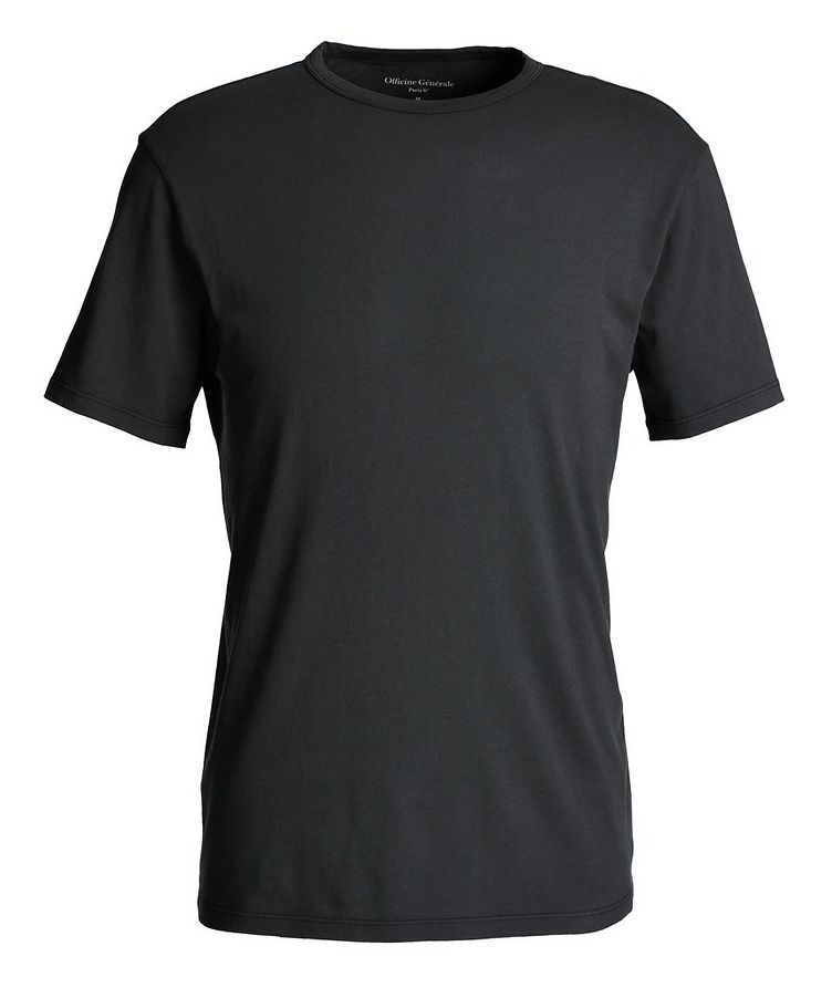 Garment-Dyed Cotton T-Shirt image 0