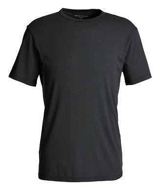 Officine Generale T-shirt en coton teint en pièce