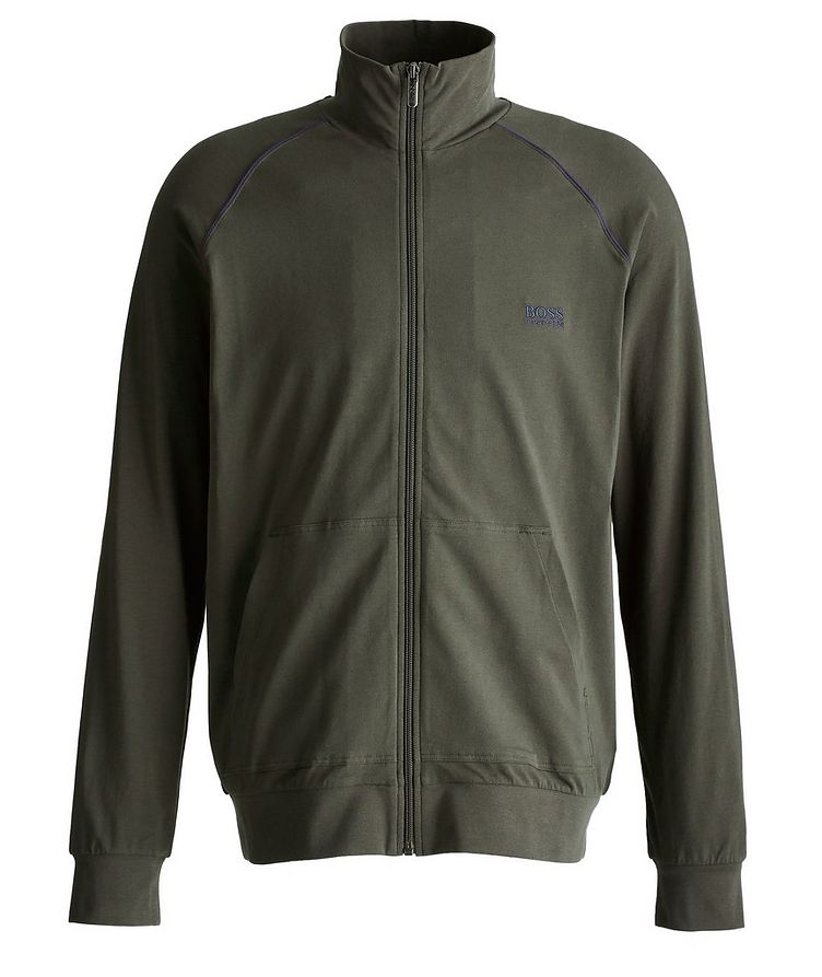 Mix and Match Zip-Up Stretch-Cotton Jacket image 0