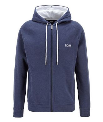 BOSS Double-Faced Cotton-Cashmere Hoodie