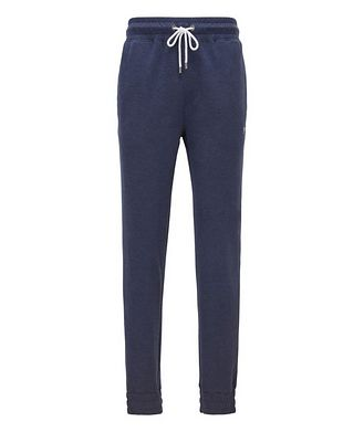 BOSS Double-Faced Cotton-Cashmere Joggers