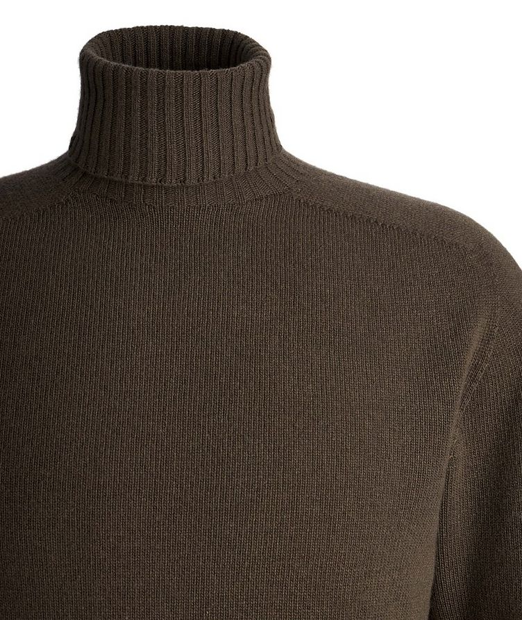 Seamless Wool-Cashmere Turtleneck  image 1