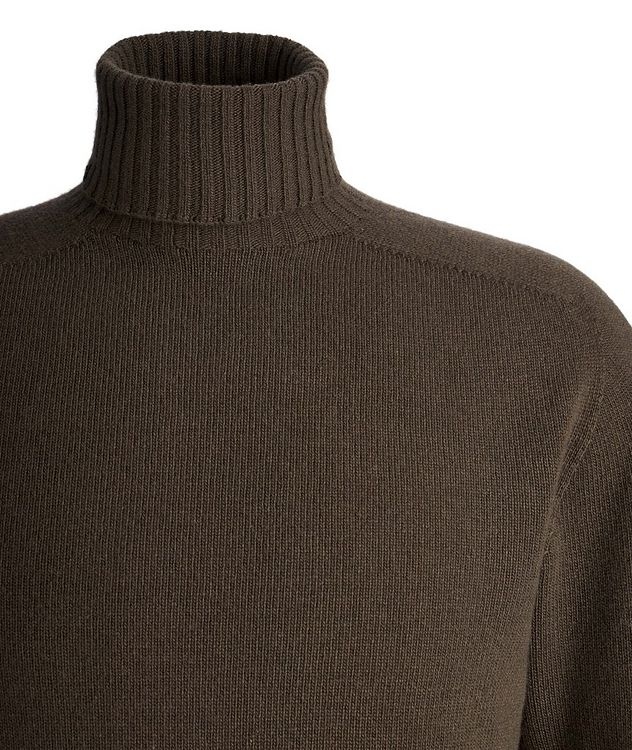 Seamless Wool-Cashmere Turtleneck  picture 2