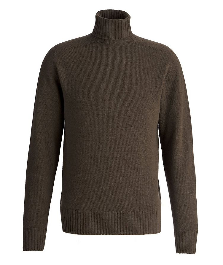 Seamless Wool-Cashmere Turtleneck  image 0