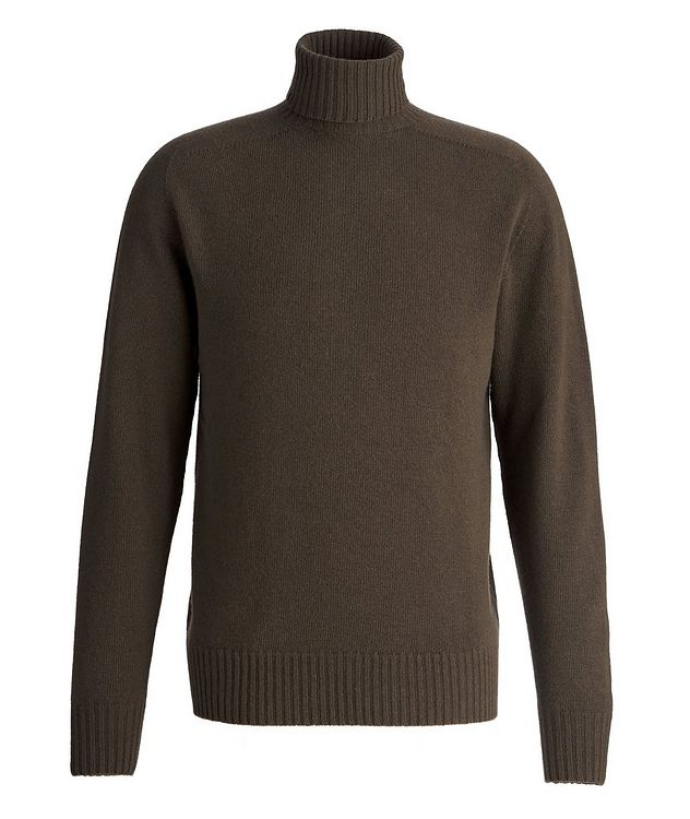 Seamless Wool-Cashmere Turtleneck  picture 1