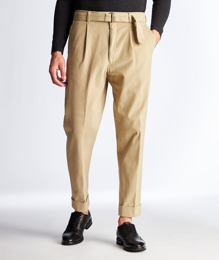 Cotton Trousers image 0