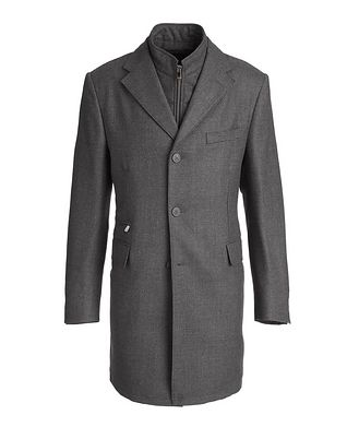 Corneliani Wool Overcoat