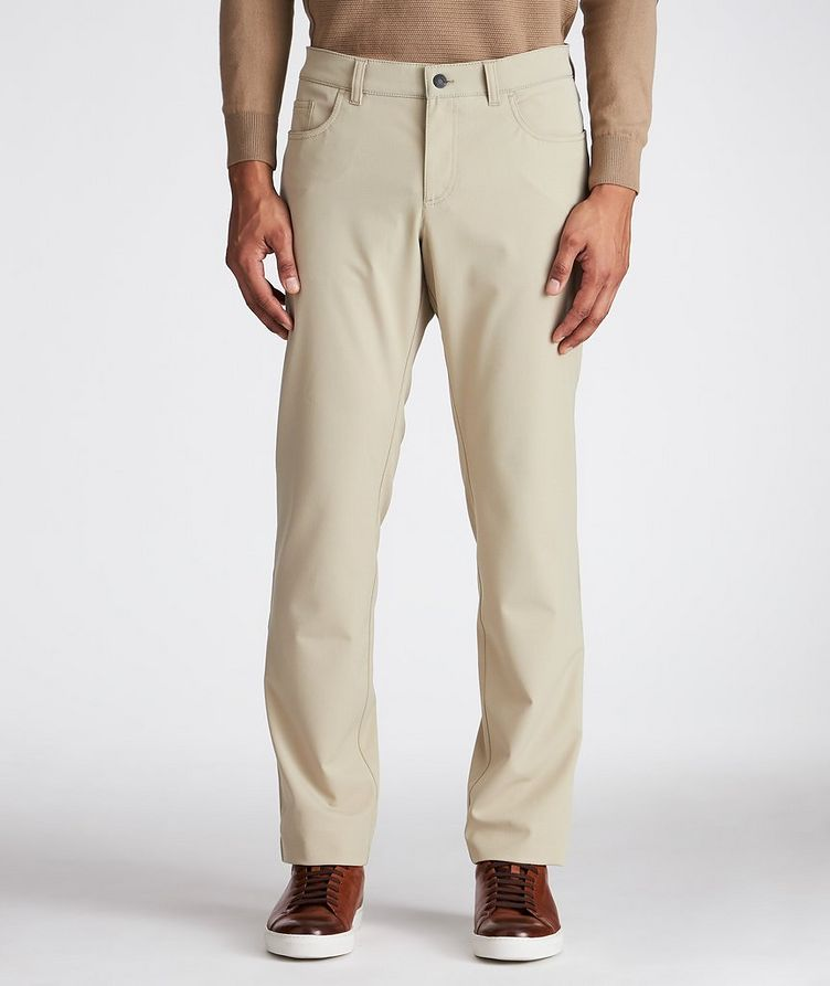 Ceramica Pipe Slim Fit Stretch Pants image 0