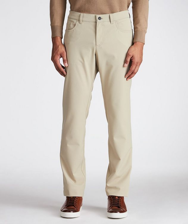 Ceramica Pipe Slim Fit Stretch Pants picture 1