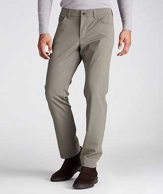 ALBERTO Ceramica Pipe Slim Fit Stretch Pants
