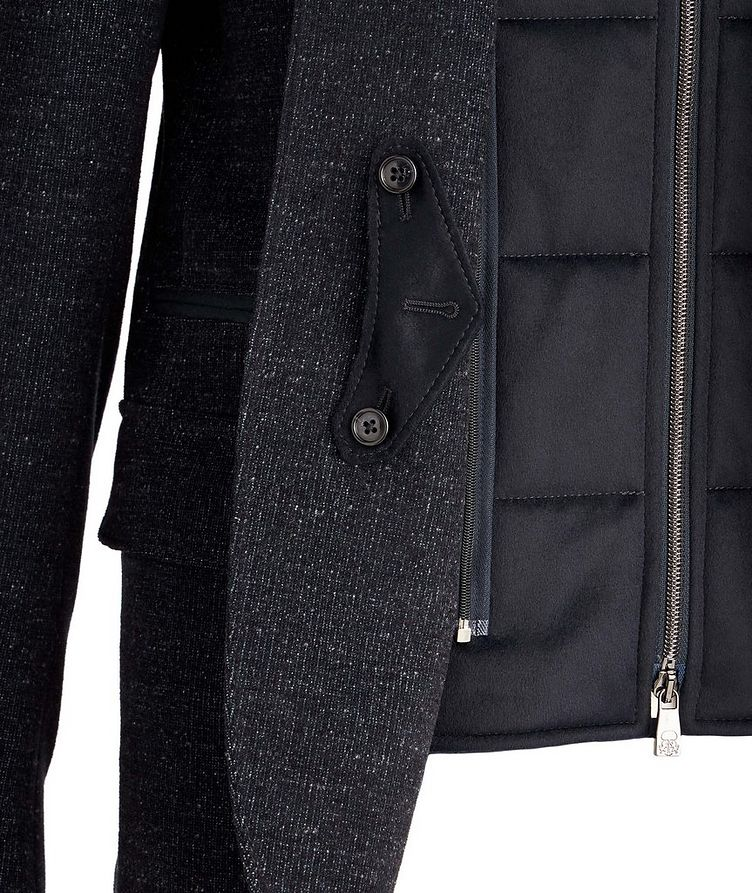 Stretch Wool-Cotton Coat image 2