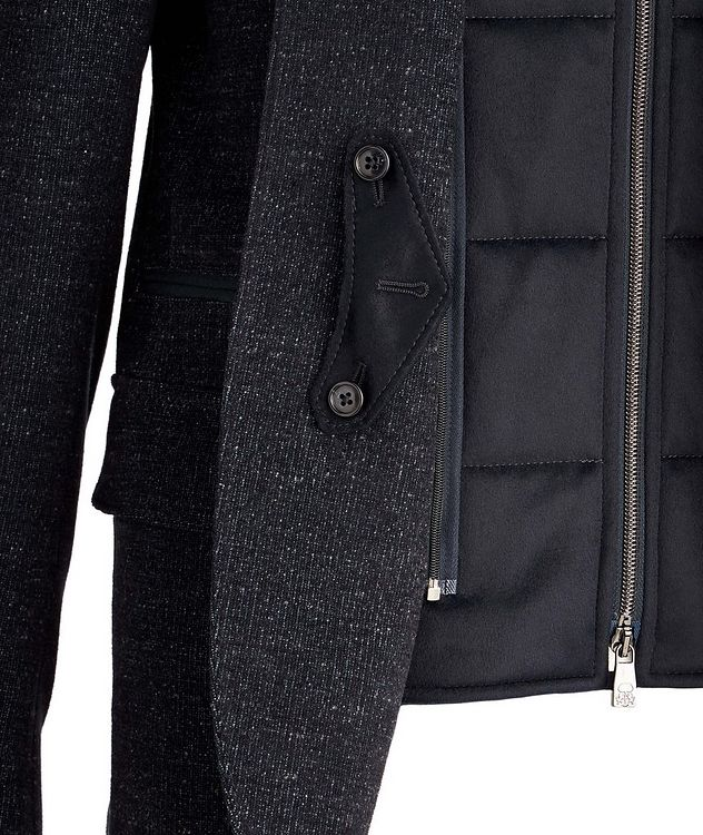 Stretch Wool-Cotton Coat picture 3