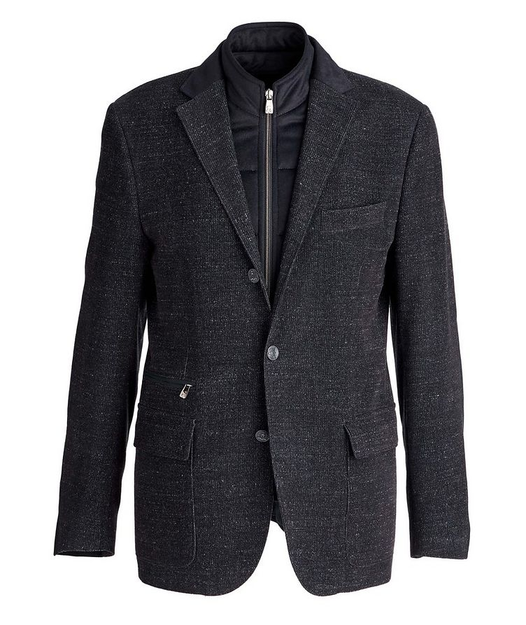 Stretch Wool-Cotton Coat image 0