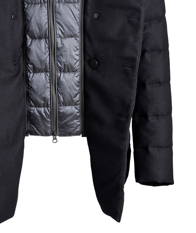 Quilted Double-Breasted Jacket image 3